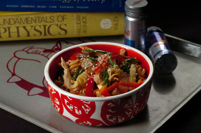 Dorm Cuisine (Photo by Mark DuFrene/Contra Costa Times)