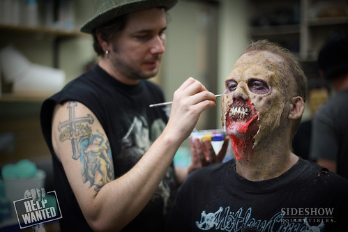 zombies makeup. Zombie Makeup Process