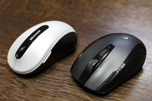 Microsoft Wireless Mobile Mouse 4000 and VX Nano Cordless Laser Mouse for Notebooks