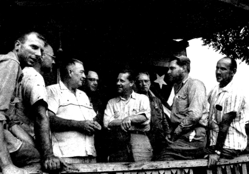 Raul Castro US Hostages July 1958