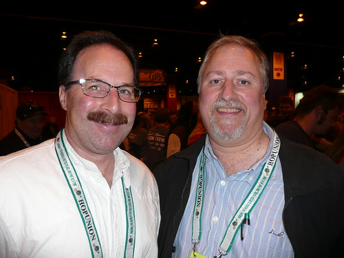 Dan Carey, from New Glarus, and Me