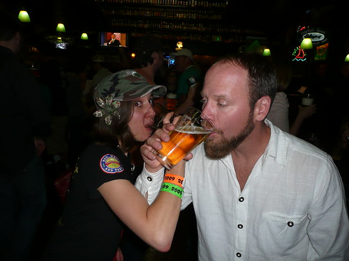 Nicole Erny & Matt Brynildson Toasting the End of GABF Week