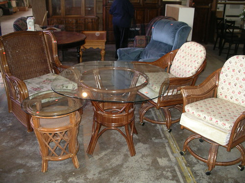 Rattan Furniture Z(Each Item Sold Seperately)