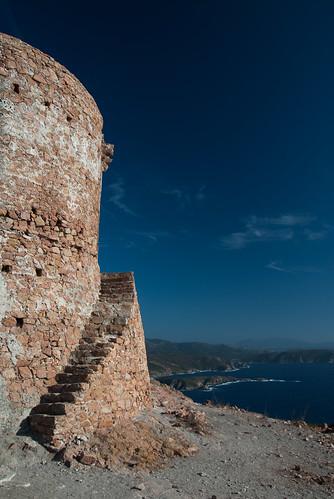 Capu Rossu - Turm