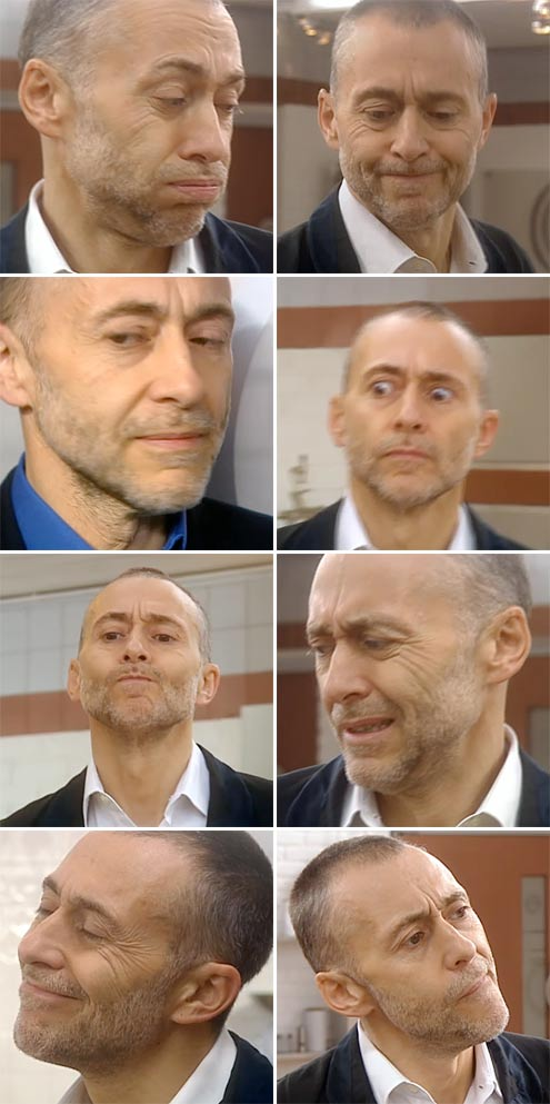 The many faces of Michel Roux Junior