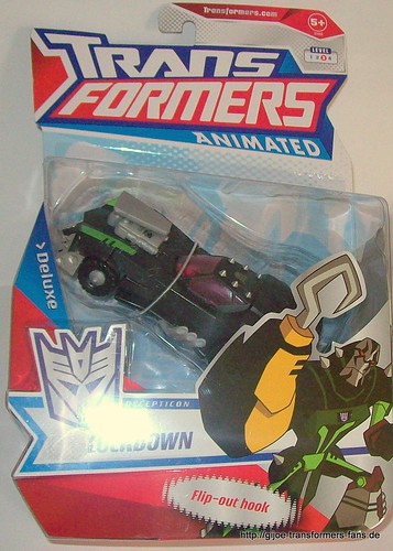 Lockdown  Animated Deluxe  Transformers 001