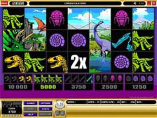 free Dino Might bonus feature
