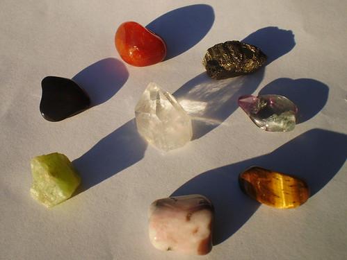 Set of 8 Healing Crystals