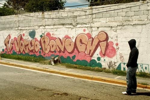 Grafiti Art En Italiano: Ti voglio bono chi
