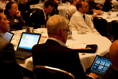 Gov 2.0 Conference audience Twitter part by CeBIT Australia, on Flickr