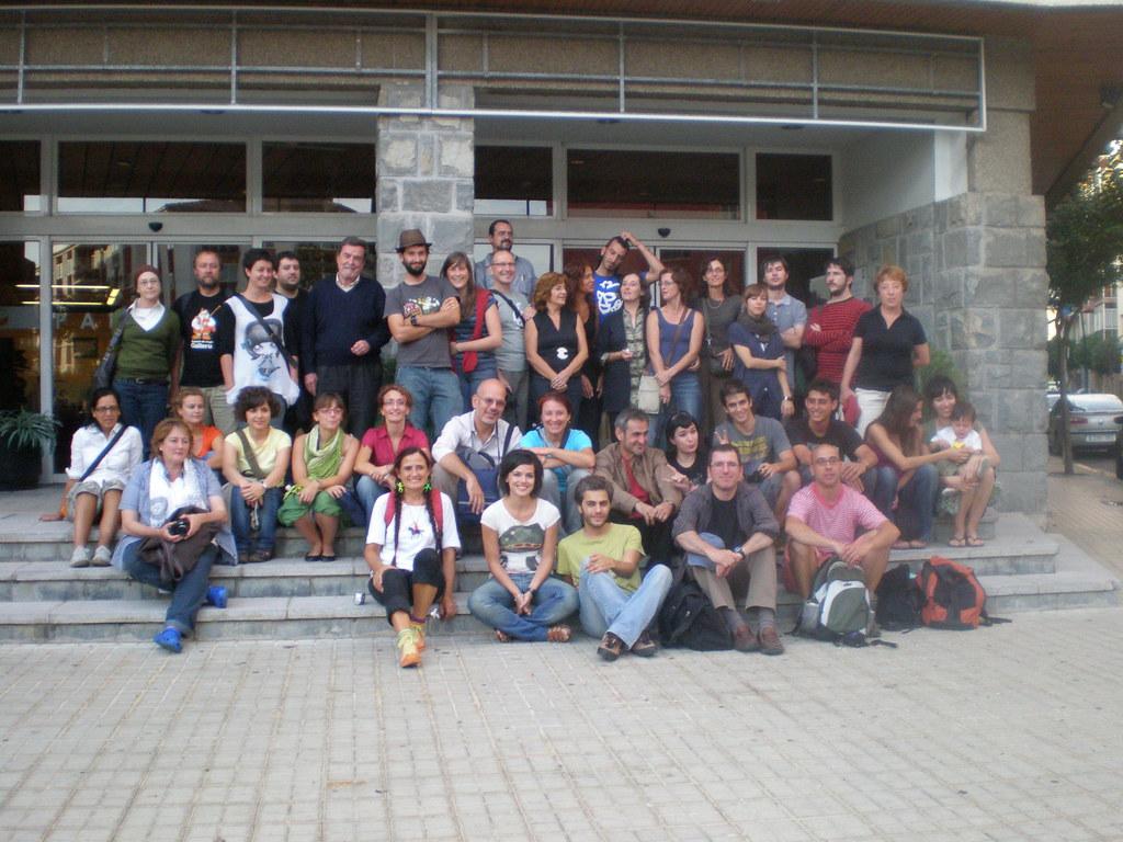 De vuelta con el cuaderno. Jaca, Spain, Sept. 09