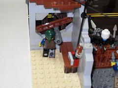 Main Street Apocalypse 04 (Rick Ricks) Tags: post lego jeep apocalypse motorcycle atv missle apocalego