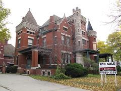 530 Parkview, Detroit (southofbloor) Tags: city house castle architecture louis detroit historic barry motor mansion stanton parkview subdivision motown kamper