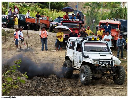Pesta Kubis Kundasang 2009 - Kundasang 4x4 Challenge - Suzuki 4x4 SJ 2.4cc 2LT offroad