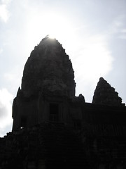 Angkor Wat in Silhouette, Cambodia