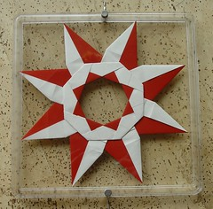 Ring 13 B von Tomoko Fuse - Rückseite (Tagfalter) Tags: origami ring tomokofuse