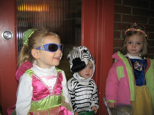 Halloween parade at school