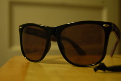 black classic sunglasses purple cult 9five