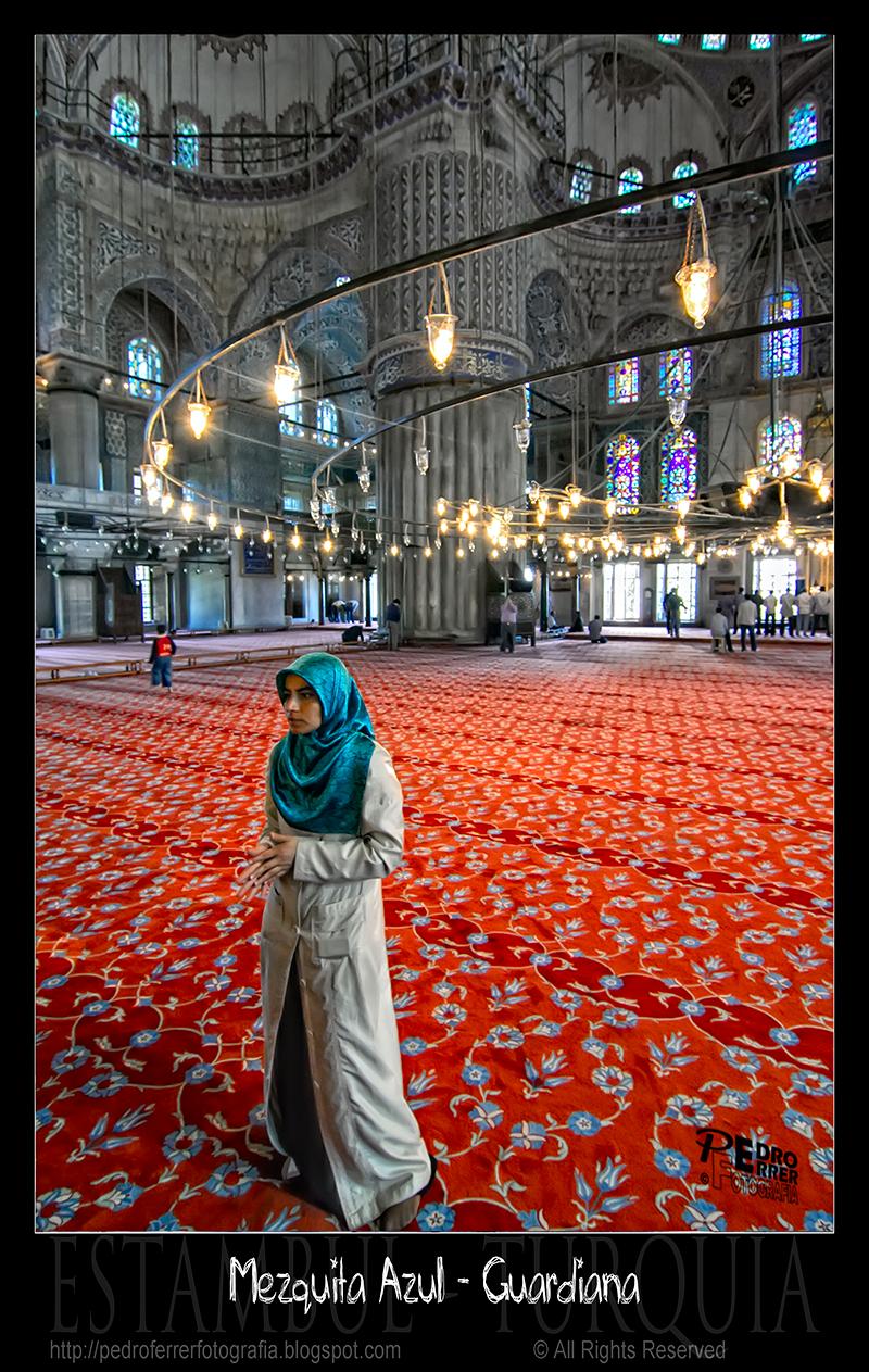 Mezquita Azul - Blue Mosque - Sultanahmet Cami - La guardiana