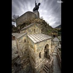 King Vakhtang Gorgasal statue in Tbilisi (თბილისი)