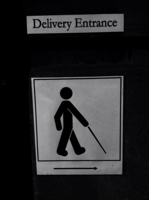 while there's some strange things going on with this icon, the fact that he has a cane is fab