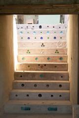 L'escalier entre les 2 niveaux