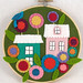 Title: Little City Hoop: In Bloom; Artist: Melissa Crowe