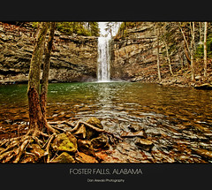 Foster Falls, Alabama (imdna...) Tags: waterfall nikon alabama d70s tokina1224 hike falls fosterfalls
