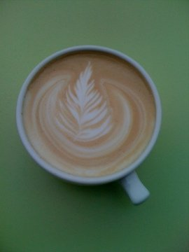 Latte Art by Rockin Joes in SoDo