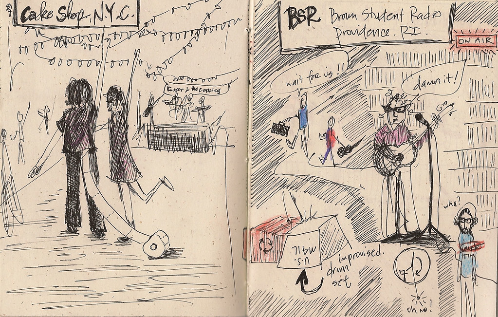 Tour Doodle: New York City - Cake Shop and Providence, RI - BSR (Brown Student Radio)