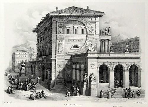 015- Letra P-Alfabeto pittorico- Antonio Basoli 1839-© Accademia di Belle Arti di Bologna