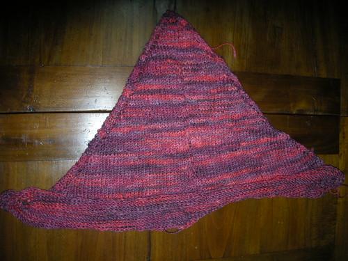 KAL mormor's shawl Emma