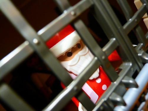 Santa in Jail