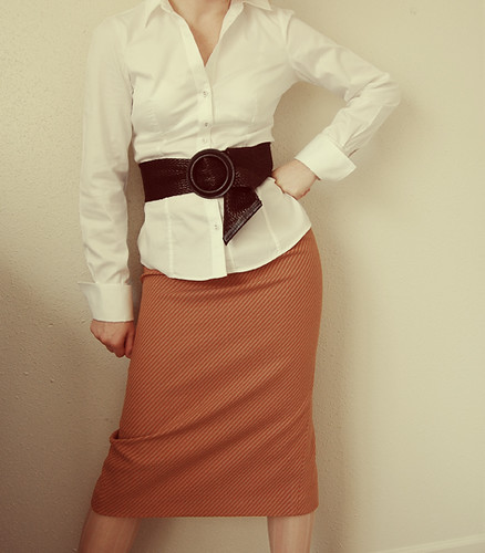 Mad Men Skirt Front View