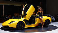 Lamborghini Murcilago LP670-4 SV world debut in Geneva (Martijn Kapper) Tags: world show public girl this see all with geneva photos sony autoshow icon chick tagged exotic click alpha lamborghini 2009 martijn videos sv showdown debut motorshow a100 murcilago kapper superveloce lp6704