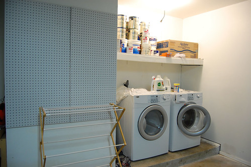 laundry area before 1