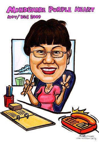 Caricature for Mindshare Nov & Dec -2