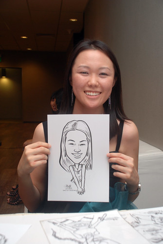 Caricature live sketching for Lonza - 21