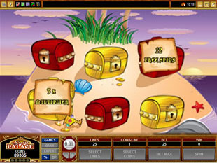 free Shiver Me Feathers gamble bonus game
