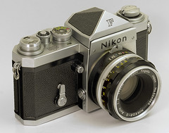 Nikon F with eye-level finder (s58y) Tags: camera macro nikon stack stacking filmcamera nikonf macrolens dff focusstack helicon focusstacking heliconfocus dofstack dofstacking nikkor5cmf2 eyelevelfinder heliconfocus50 deepfocusfusion