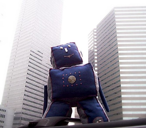 Ryan's Robot visits Downtown Dallas...