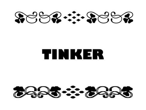 Buzzword Bingo: Tinker