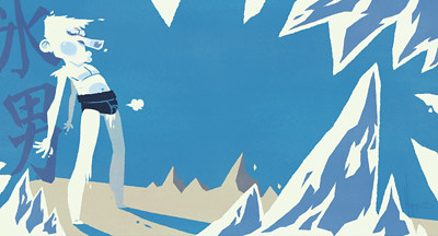 Ice Man Doodle