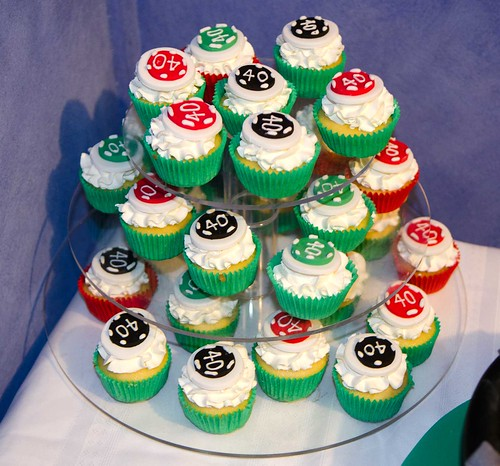 Poker Chip Cupcakes