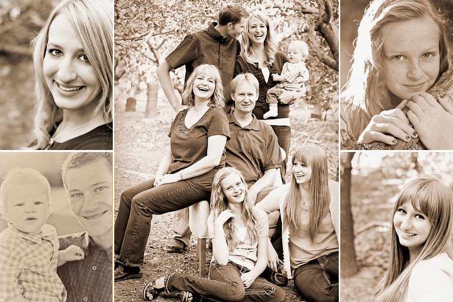 Smith Family Sepia