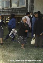 Sra. María Unquén, una querida amiga y cultora de las manifestaciones tradicionales del Archipiélago de Chiloé