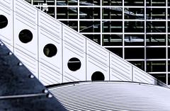 Airport Architecture (Imagonos) Tags: architecture deutschland airport hessen outdoor architektur flughafen metall frankfurtmain ves observationdeck besucherterrasse dslrphotography jskarchitekten airportstreetstyle imagonos helmutwjoos karstenkrügerheyden gunterbürk
