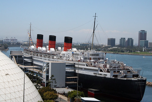 Queen Mary from Balcony