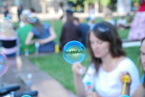 Burbuliuojam