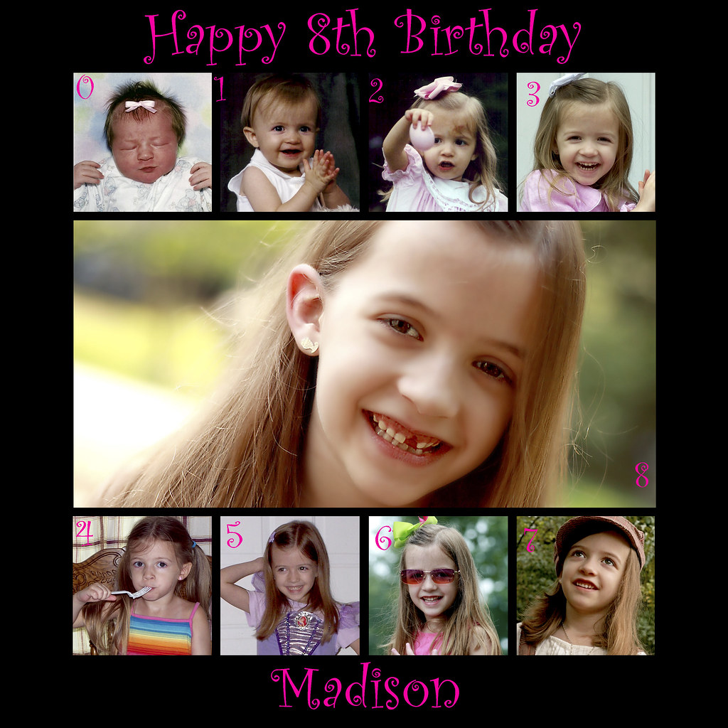 Madison 8 yrs collage
